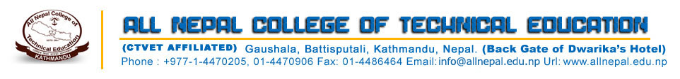 All Nepal College of Technical Education